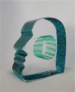 Art Glass Mans Mind Kosta Boda Vallien