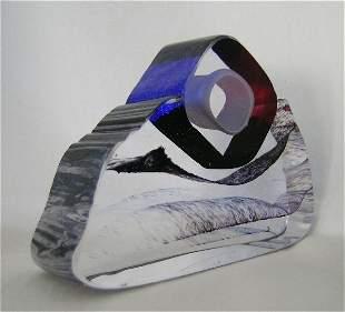 In The Stone Art Glass mini sculpture
