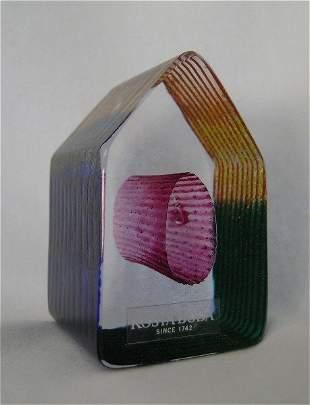 Country Living Art Glass Sculpture