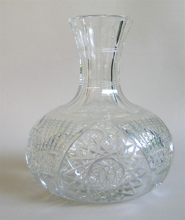 2: Cut Glass Water Carafe