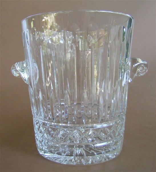 6: Glass Ice Bucket-Wine Chiller