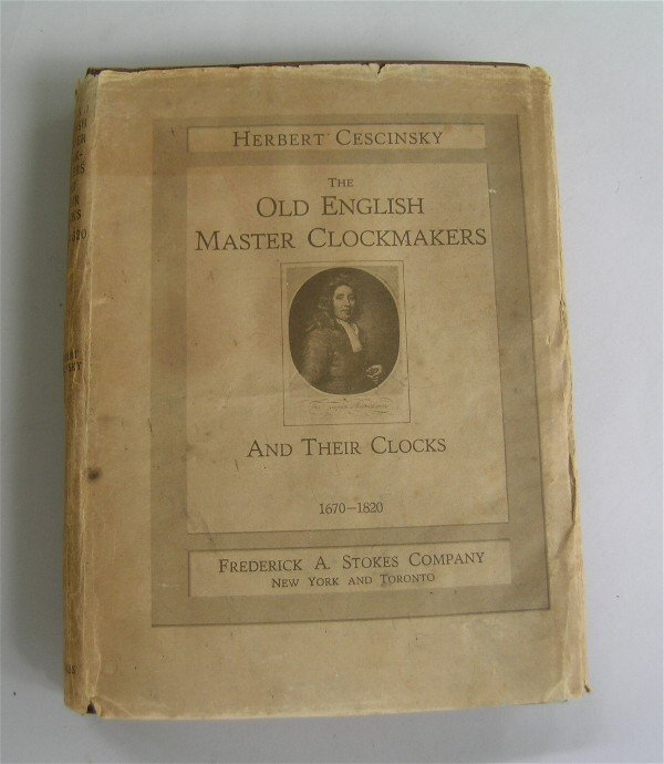 16: Old English Clockmakers Book
