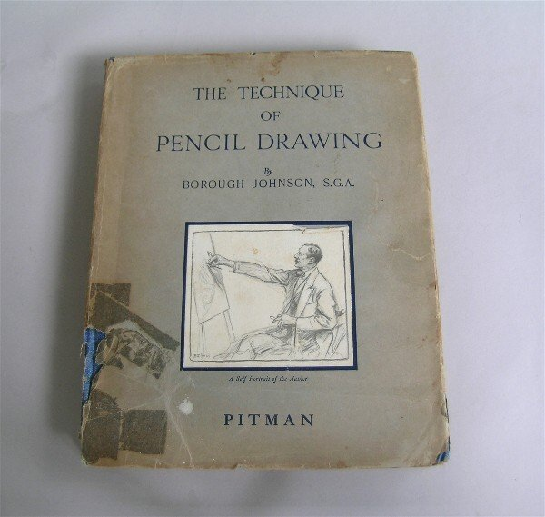 20: Technique of Pencil Drawing Book 1930