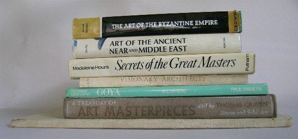 22: Lot of Six Art Books