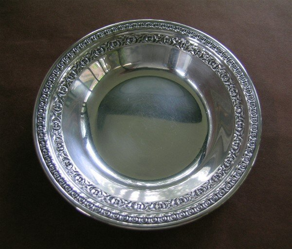 23: Reed & Barton Silver Dish