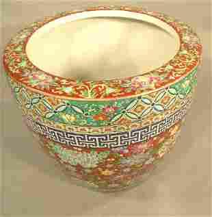 Chinese Ceramic Cache Pot