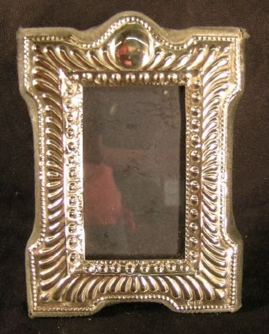 809C: Sterling Silver Picture Frame Edwardian Style