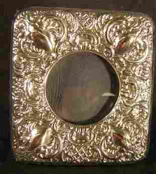 Victorian Style Sterling Picture Frame