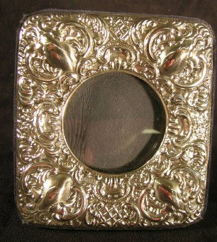 809D: Victorian Style Sterling Picture Frame