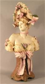 1009: Art Nouveau Woman Austrian or Royal Dux?