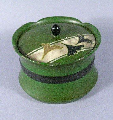 1011: Art Deco Musical Jewelry Box