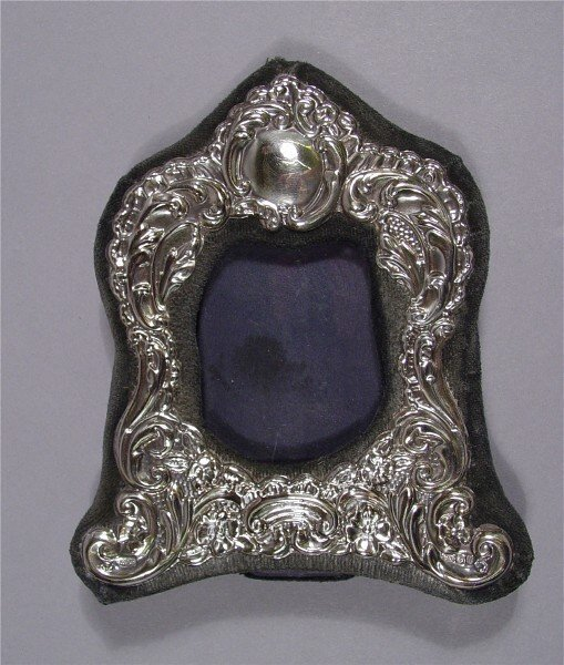 1020: French style Sterling Photo Frame