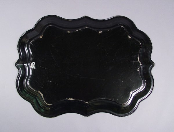 1034: Lot of Vintage Tole Painted Trays - 10