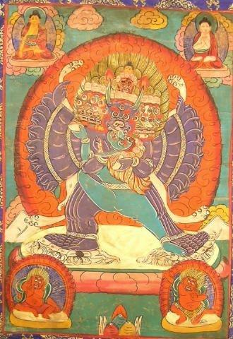 409: Tibetan Tanka Bodhisattva Buddha