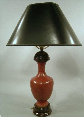 415: Japanese Cloisonné Vase Lamp