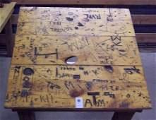 100: DIXIE CHICKEN CLASSIC DOMINO TABLE