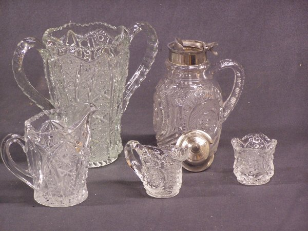 1088: Pressed Glass Lot
