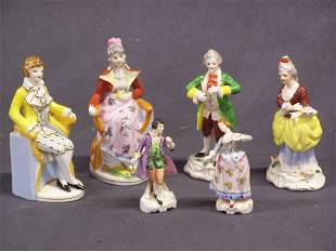 Occupied Japan Colonial Porcelain Figurines Lot