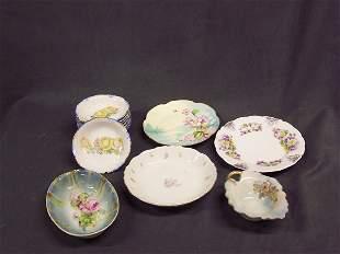 Lot Porcelain Decorative Bowls & Plates