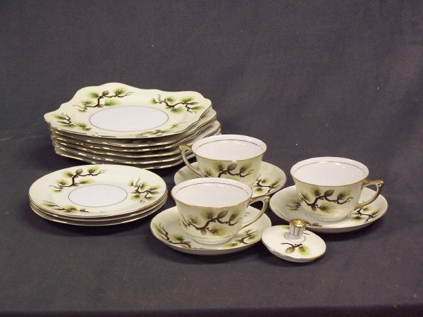 1092: Narumi Porcelan Dinnerware Japan Lot