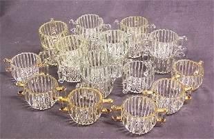 Depression Glass Lot National Sugar Bowls