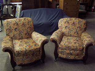 Pair of Deco Chairs