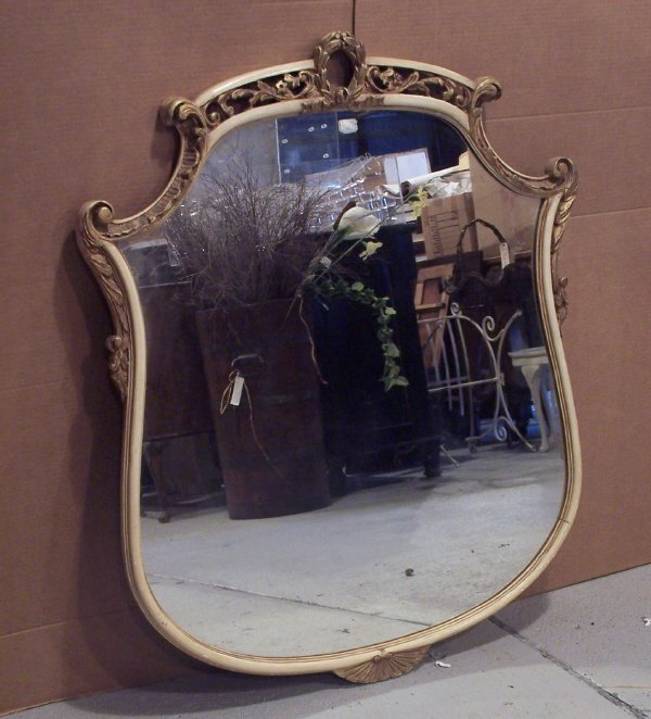 114: French Style Mirror