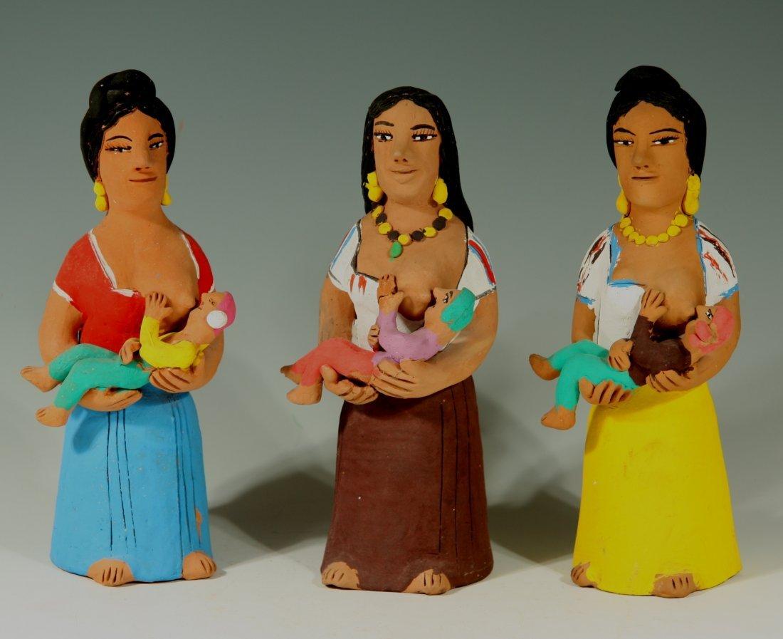 3 Nursing Women by Josefina Aguilar