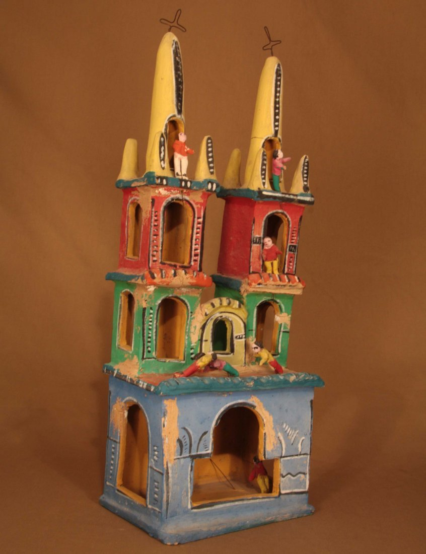 Two-Steeple Church by Candelario Medrano