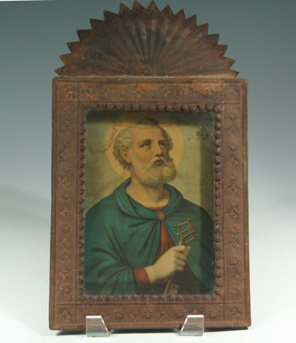 Nicho with St Peter Holding Keys