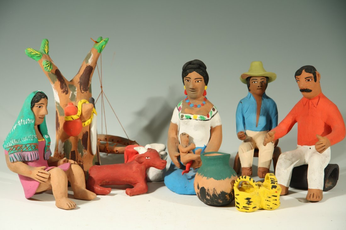Birthing Scene by Josefina Aguilar
