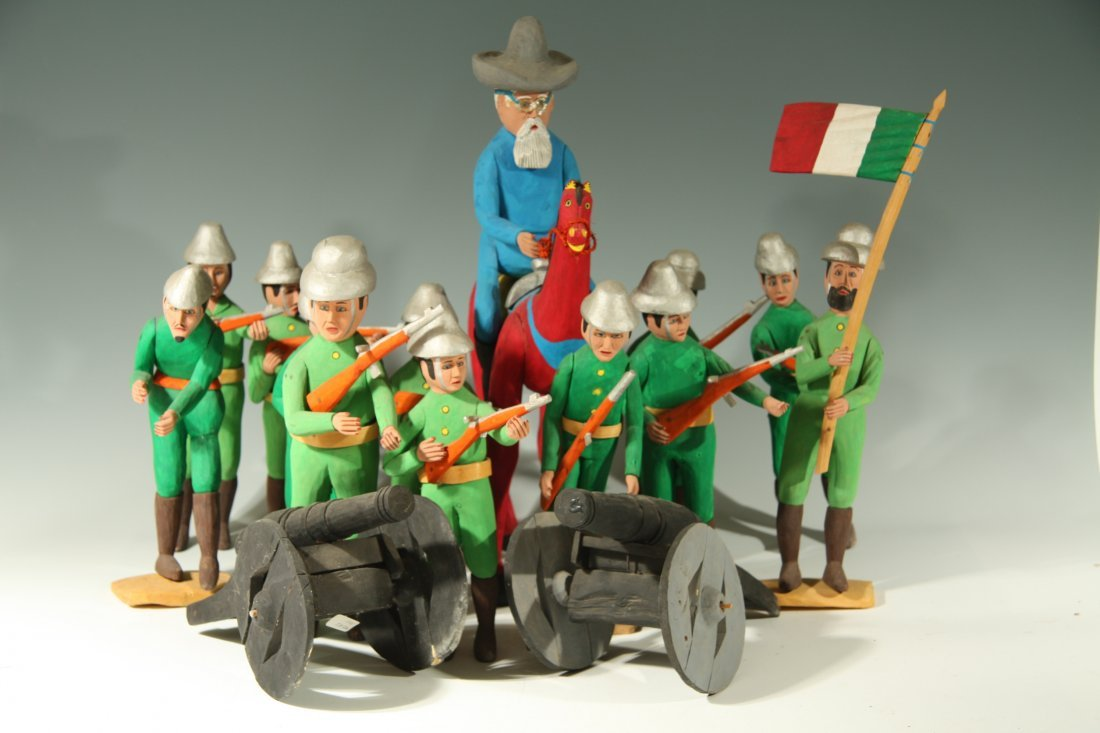 Battle For Mexican Independance By Manuel Jimenez