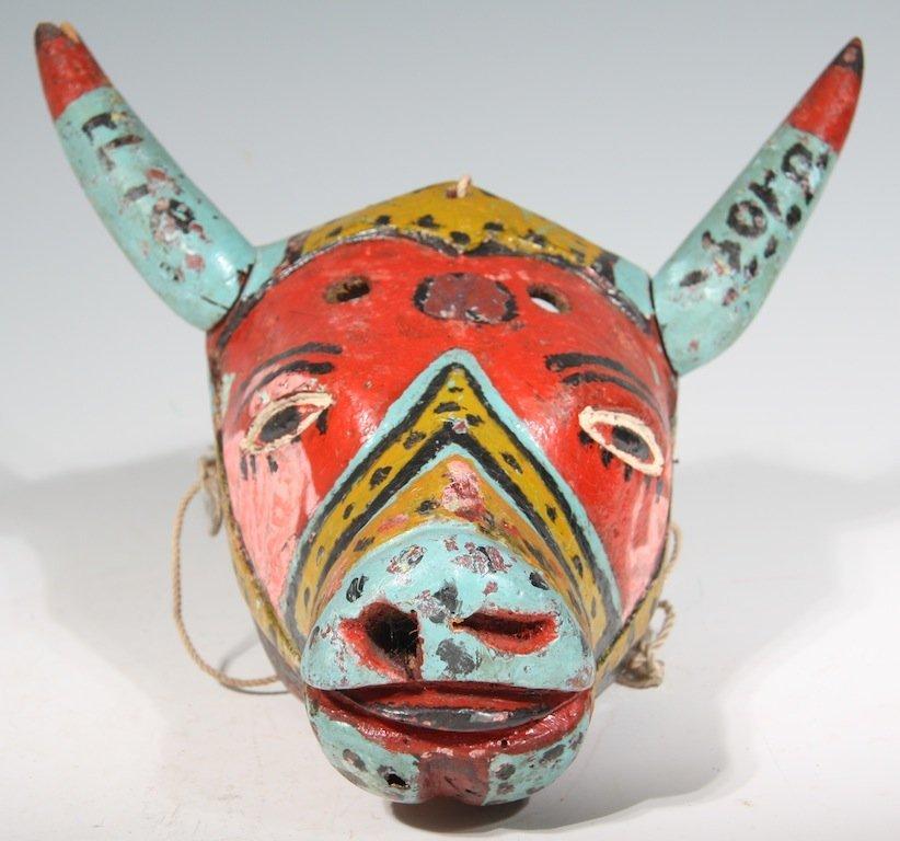 Carnival Mask from Alto Tio Diego, Veracruz