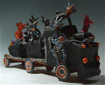 7 Devils Riding a Train