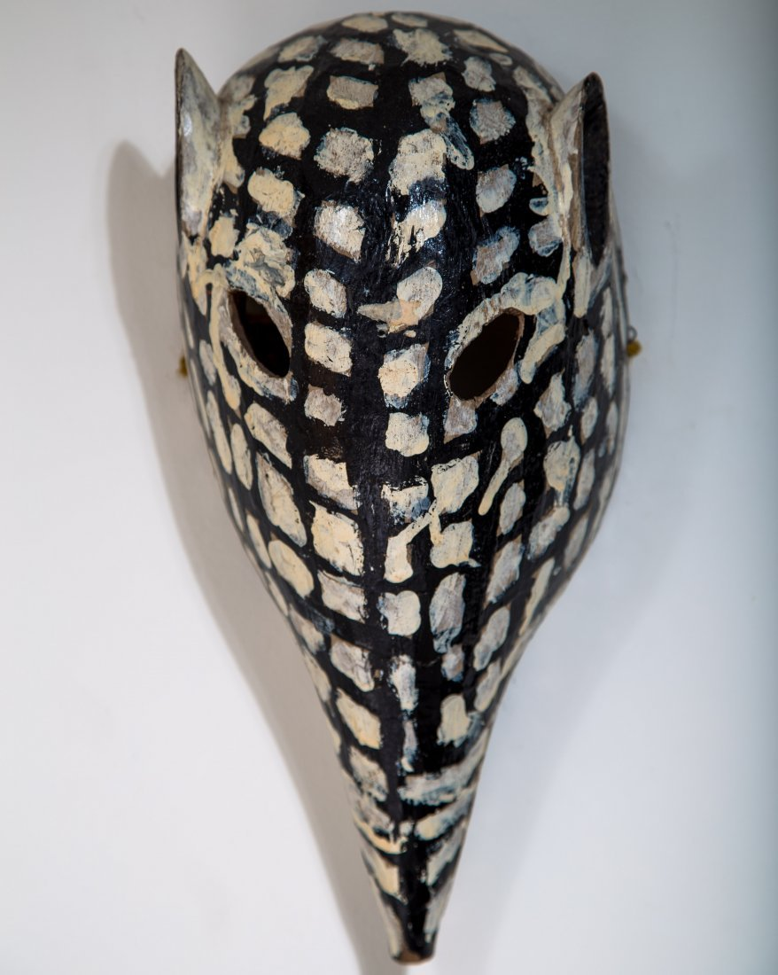 Mexican Dance Mask - Armadillo