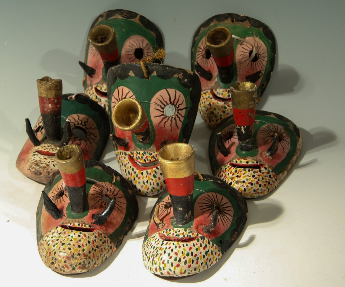7 Small Trumpet-Nosed Masks