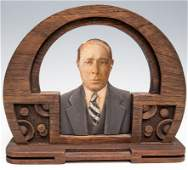 Photo Sculpture of Man with Flaws and no Glass