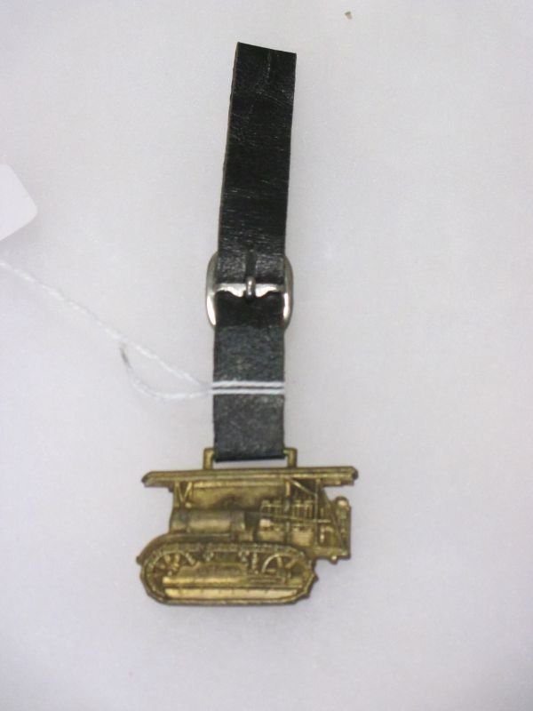Caterpillar Tractor Co. Watch Fob, excellent condition - 2