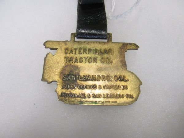 Caterpillar Tractor Co. Watch Fob, excellent condition - 3