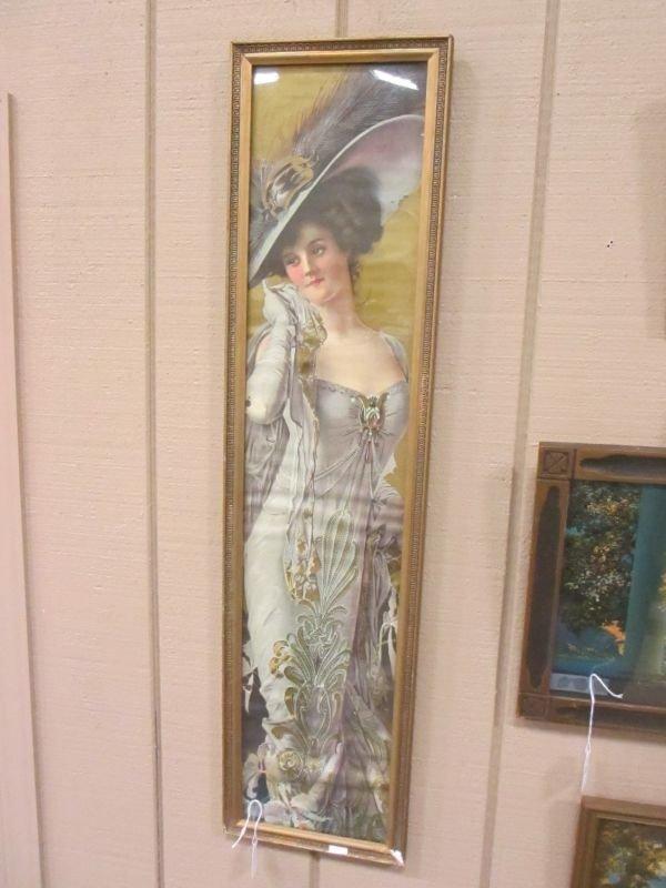 Victorian Lady Yard Print