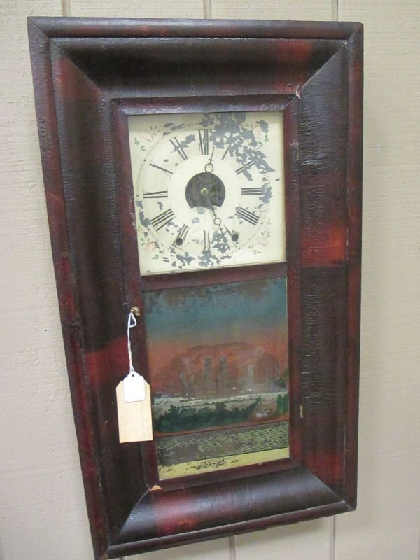William S. Johnson 8 Day Clock