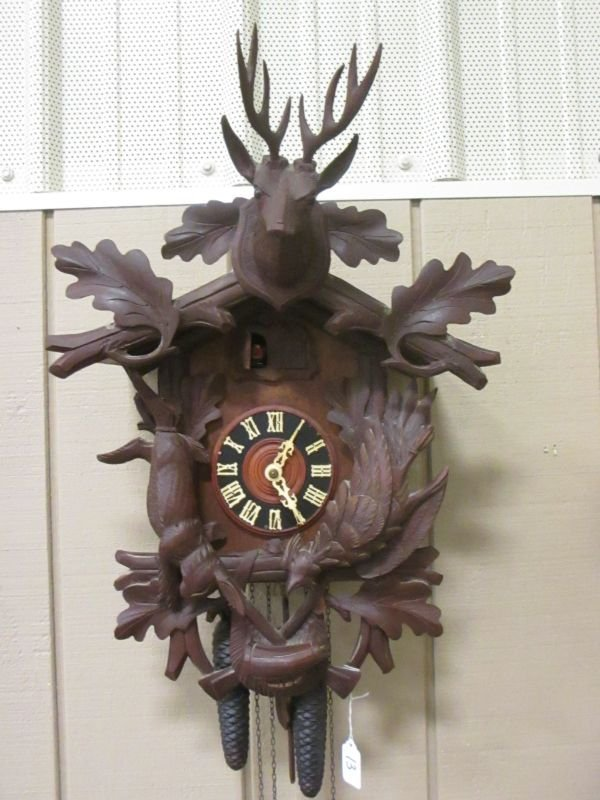 Large German Cuckcoo Clock