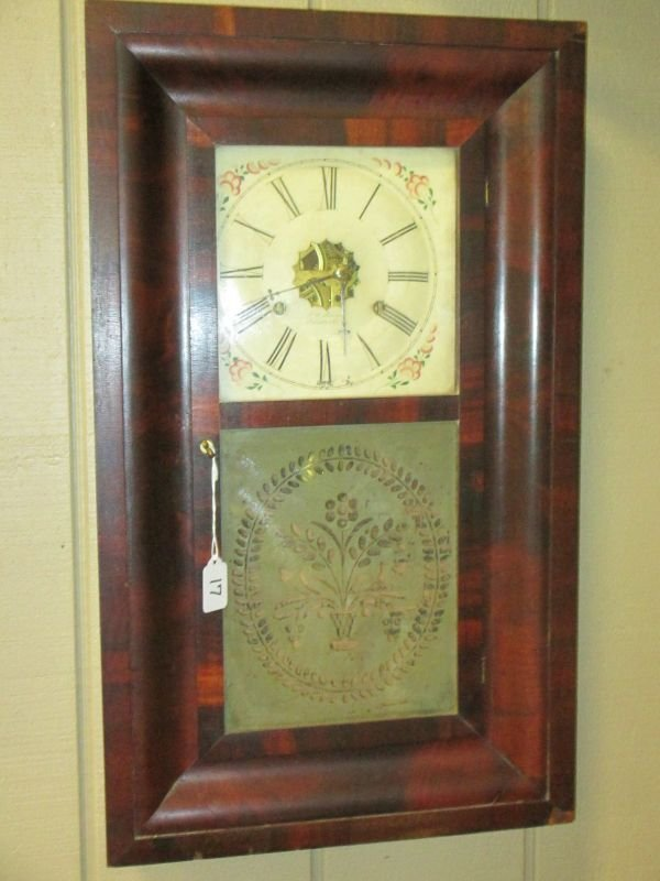J.C. Brown 30 Hour Wall Clock