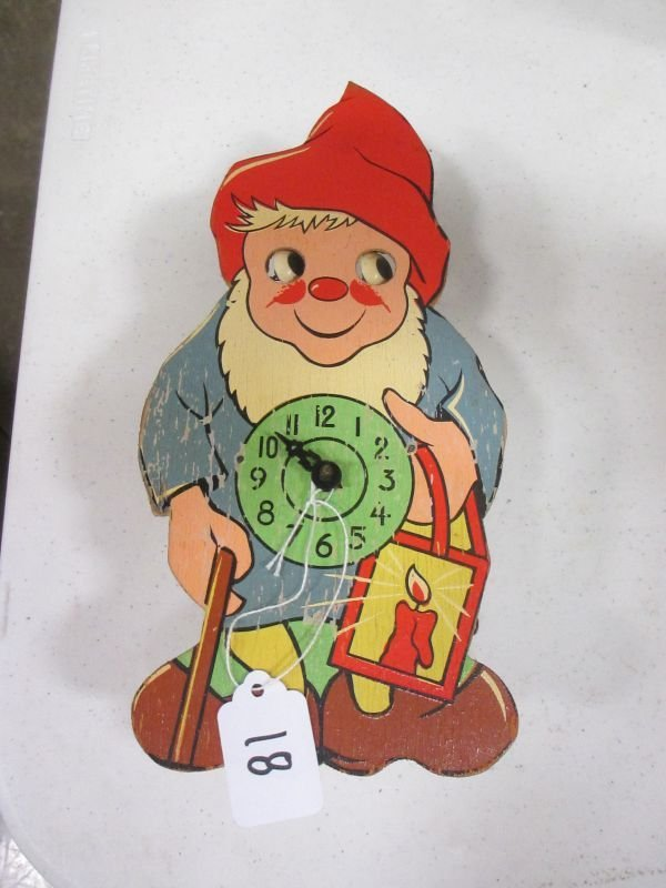 1960's Knome Cuckcoo Clock