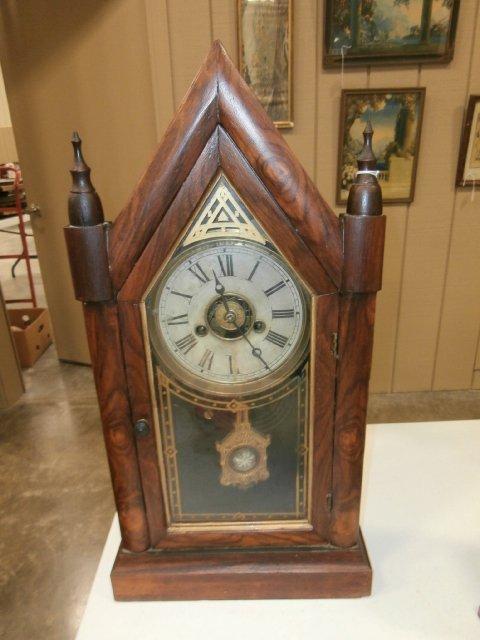 E. N. Welch Sharp Gothic Steeple Clock - 2