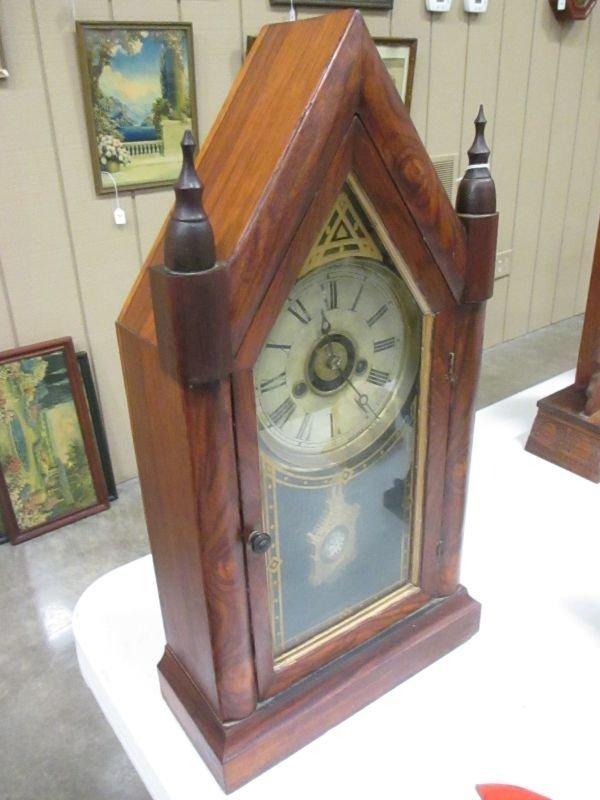 E. N. Welch Sharp Gothic Steeple Clock - 3