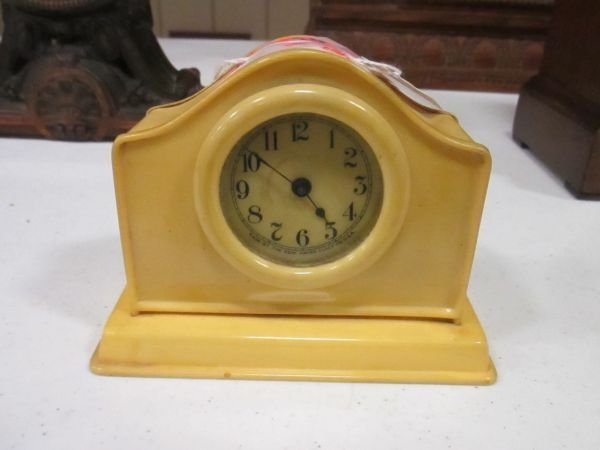 New Haven Celluloid Clock
