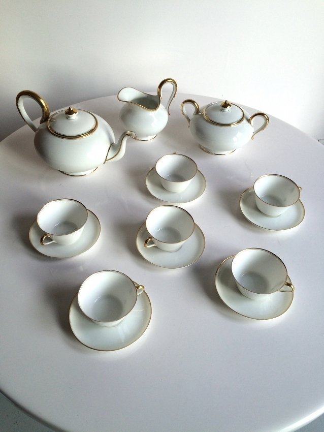 Richard Ginori, tea set - 2