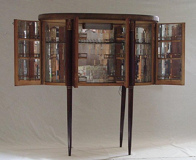 Paolo Buffa (attr.), cocktail cabinet - 2
