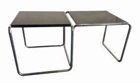 Marcel Breuer, Knoll, two coffee tables